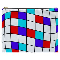 Colorful cubes  Cosmetic Bag (XXXL)