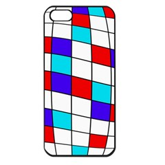 Colorful cubes  Apple iPhone 5 Seamless Case (Black)