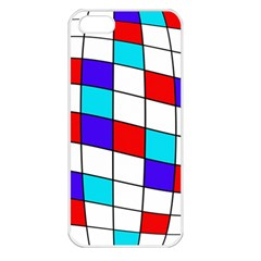 Colorful cubes  Apple iPhone 5 Seamless Case (White)