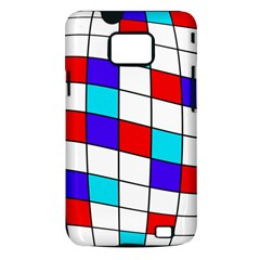 Colorful cubes  Samsung Galaxy S II i9100 Hardshell Case (PC+Silicone)