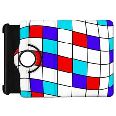 Colorful cubes  Kindle Fire HD Flip 360 Case