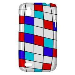 Colorful cubes  HTC Desire V (T328W) Hardshell Case