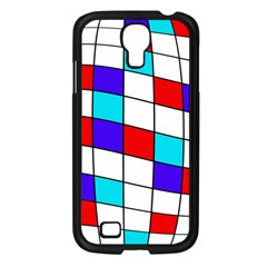 Colorful cubes  Samsung Galaxy S4 I9500/ I9505 Case (Black)