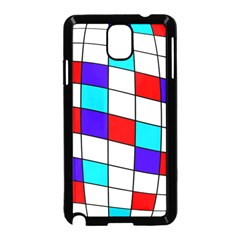 Colorful cubes  Samsung Galaxy Note 3 Neo Hardshell Case (Black)