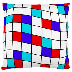 Colorful cubes  Standard Flano Cushion Case (Two Sides)