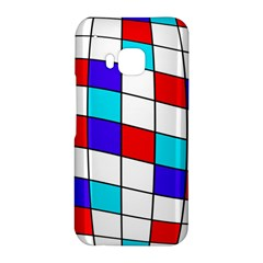 Colorful cubes  HTC One M9 Hardshell Case