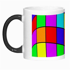 Colorful cubes Morph Mugs
