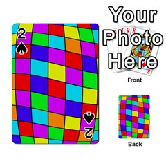 Colorful cubes Playing Cards 54 Designs