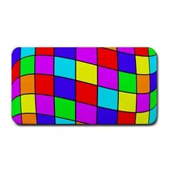 Colorful cubes Medium Bar Mats
