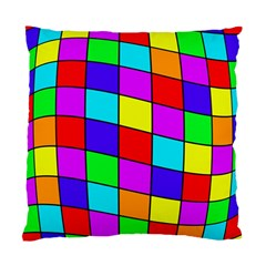 Colorful cubes Standard Cushion Case (Two Sides)