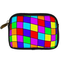 Colorful cubes Digital Camera Cases