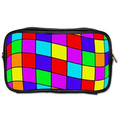 Colorful cubes Toiletries Bags 2-Side
