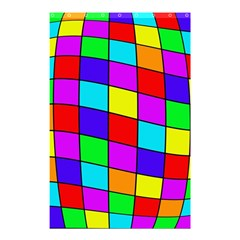 Colorful cubes Shower Curtain 48  x 72  (Small)