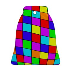 Colorful cubes Ornament (Bell)