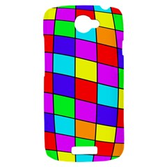Colorful cubes HTC One S Hardshell Case
