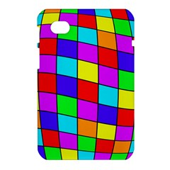 Colorful cubes Samsung Galaxy Tab 7  P1000 Hardshell Case
