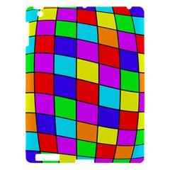 Colorful cubes Apple iPad 3/4 Hardshell Case