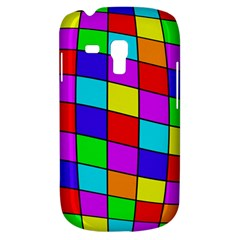 Colorful cubes Samsung Galaxy S3 MINI I8190 Hardshell Case