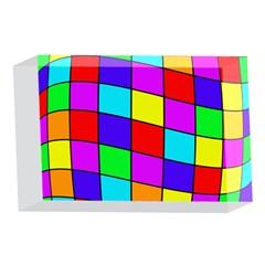 Colorful cubes 4 x 6  Acrylic Photo Blocks