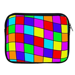 Colorful cubes Apple iPad 2/3/4 Zipper Cases