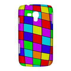 Colorful cubes Samsung Galaxy Duos I8262 Hardshell Case