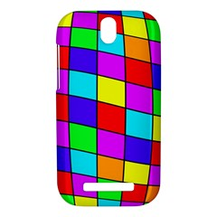Colorful cubes HTC One SV Hardshell Case