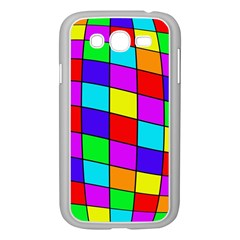 Colorful cubes Samsung Galaxy Grand DUOS I9082 Case (White)