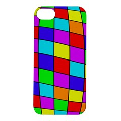 Colorful cubes Apple iPhone 5S/ SE Hardshell Case