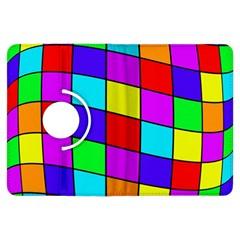 Colorful cubes Kindle Fire HDX Flip 360 Case