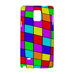 Colorful cubes Samsung Galaxy Note 4 Hardshell Case