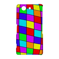 Colorful cubes Sony Xperia Z3 Compact