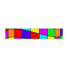 Colorful cubes Flano Scarf (Mini)