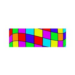 Colorful cubes Satin Scarf (Oblong)