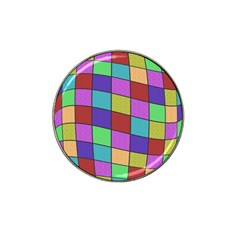 Colorful cubes  Hat Clip Ball Marker (4 pack)
