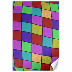 Colorful cubes  Canvas 24  x 36