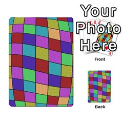 Colorful cubes  Multi-purpose Cards (Rectangle)