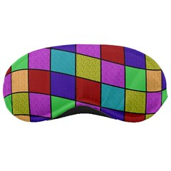Colorful cubes  Sleeping Masks