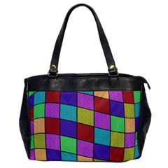Colorful cubes  Office Handbags
