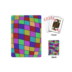Colorful cubes  Playing Cards (Mini)