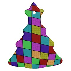 Colorful cubes  Ornament (Christmas Tree)