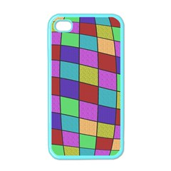 Colorful cubes  Apple iPhone 4 Case (Color)