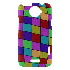 Colorful cubes  HTC One X Hardshell Case