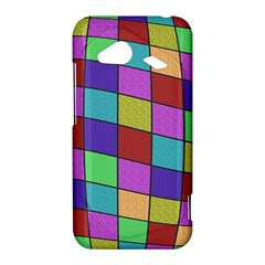 Colorful cubes  HTC Droid Incredible 4G LTE Hardshell Case