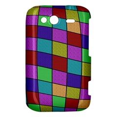 Colorful cubes  HTC Wildfire S A510e Hardshell Case