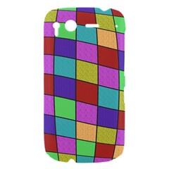 Colorful cubes  HTC Desire S Hardshell Case