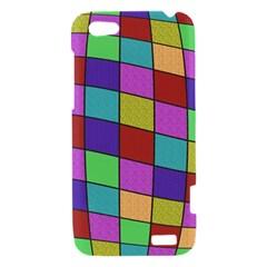Colorful cubes  HTC One V Hardshell Case