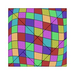 Colorful cubes  Acrylic Tangram Puzzle (6  x 6 )