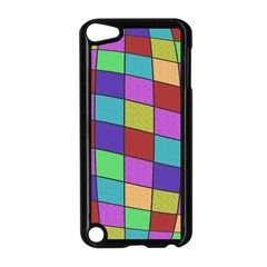 Colorful cubes  Apple iPod Touch 5 Case (Black)