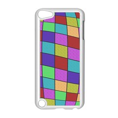 Colorful cubes  Apple iPod Touch 5 Case (White)