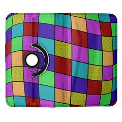Colorful cubes  Samsung Galaxy Note II Flip 360 Case